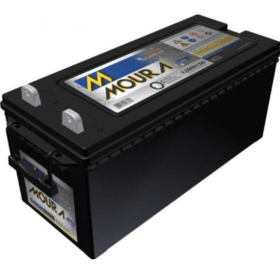 Bateria Nobreak Estacionária 150 Amperes Moura