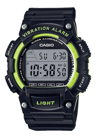 Relógio Masculino Casio Digital Esportivo W-736h-3avdf