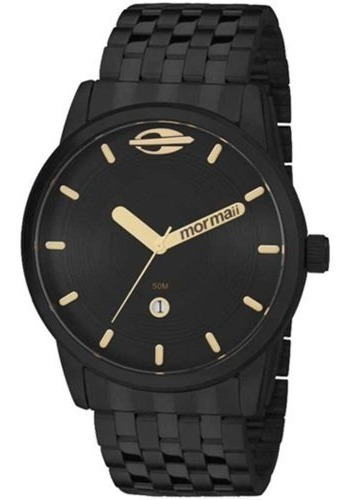 Relógio Mormaii Masculino Preto Mo2115aa/4p