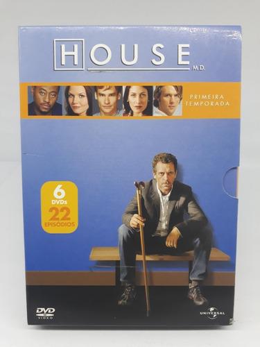 House Primeira Temporada Completa 6 Dvd's 22 Episódios