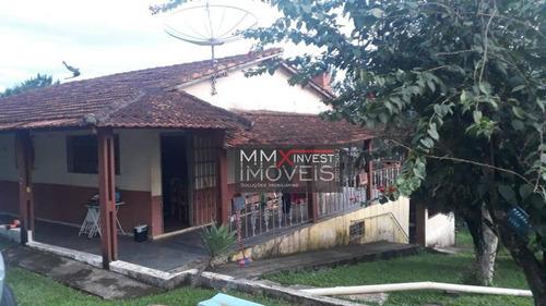 Chácara Com 2 Dormitórios À Venda, 4064 M² Por R$ 880.000,00 - Jardim Estância Brasil - Atibaia/sp - Ch0009