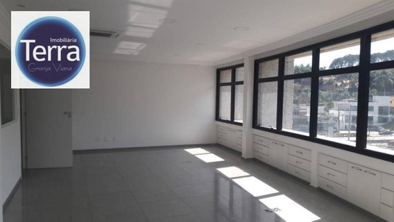 Sala À Venda, 75 M² Por R$ 750.000 - The Point Office - Granja Viana - Sa0066