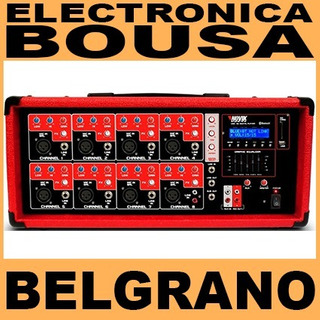 Cabezal Novik 8500 Bt 8 Canales C/ Bluetooth Remoto Y Usb