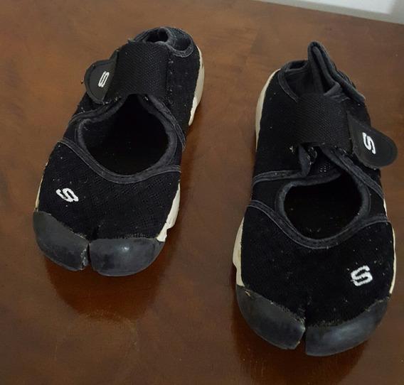 Zapatillas Sky Dedo Partido - Pezuña Negras Talle 35