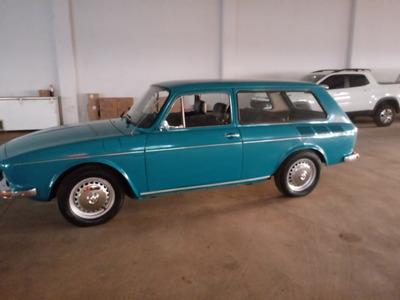 Vw Variant 1972 Á Gasolina 1600 Segundo Dono Perfeita