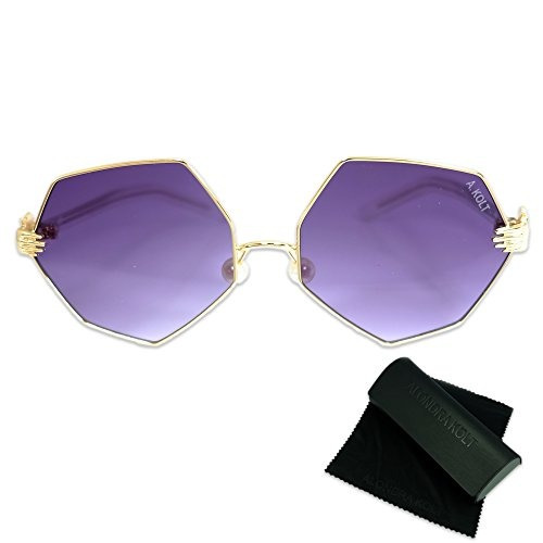 19fd77b6f7 Alondra Kolt The Laline Perla Nariz Almohadillas Gafas De So