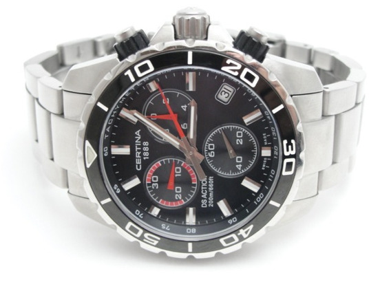 Relógio Certina Ds Action - Swiss Made - Wr 200 Mts