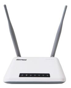 Roteador Wireless 2 Antenas Maxprint Maxlink 300mbps Bivolt