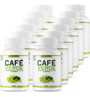 12 Potes Café Verde 500 Mg 120 Comprimidos Preço De Atacado