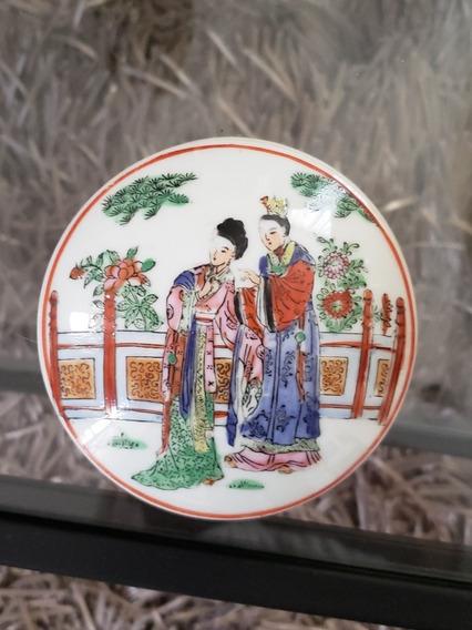 Cajita Alajero Joyero Porcelana Macao