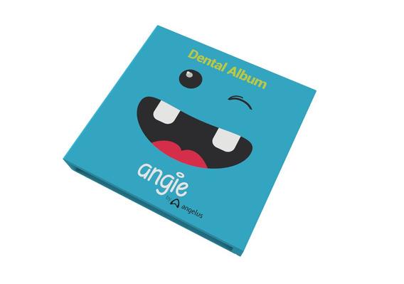 Album Infantil Para Dentes Azul Premium Angie