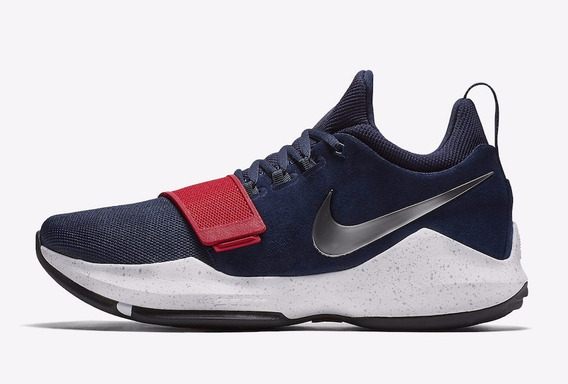 Tenis Nike Pg Usa Nuevos, Caja, Talla 30 Modelo Reducido....