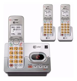 Teléfono Inalámbrico At&t El52353 3 Extensiones Contestador