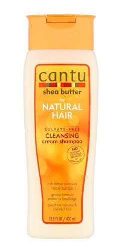 Cantu Shampoo Cleansing Cabello Rizado Ondulado Afro