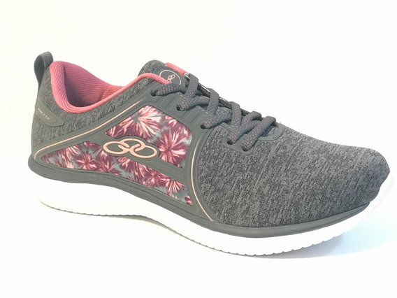 Zapatillas Olympikus Pretty Chumbo Floral Art 697