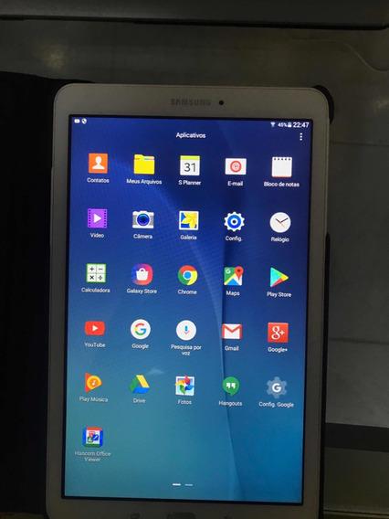 Tablet Samsung Tab E 9,6 + Case De Couro + Caneta Touch