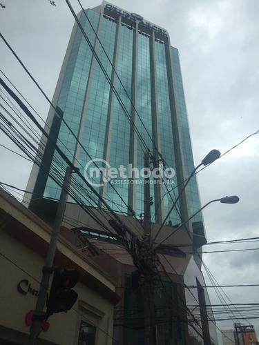 Ótima Sala Comercial Em Nobre Edifício Arcel No Centro Da Cidade De Campinas - Sa00113 - 68210720