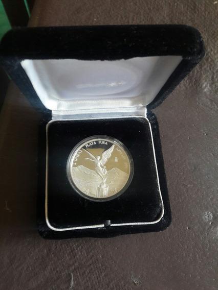 Moneda 2 Onzas Plata Pura Edicion Espejo
