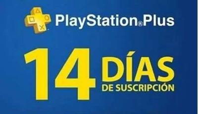 Playstation Plus 14 Días Solo 5 Minutos !!!!