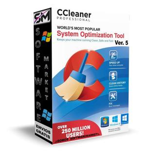 Ccleaner Professional 5 - Acelera Y Limpia Tu Computador