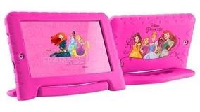 Tablet Infantil Criança Kids Diney Princess Meninas+capa