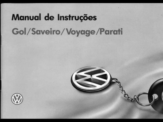 Manual Gol Quadrado Saveiro Parati E Voyage Gti Gts Ap2000 A