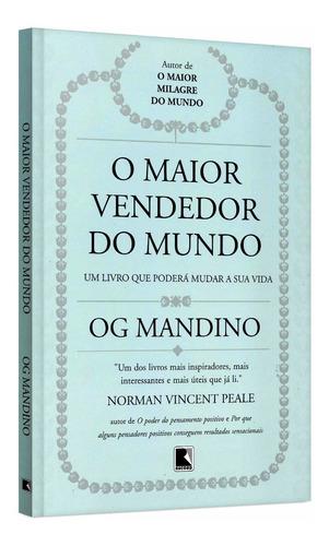 O Maior Vendedor Do Mundo - Og Mandino - Livro Novo Lacrado