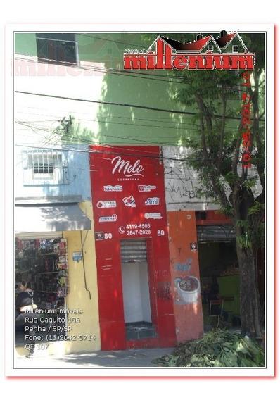 Comercial Para Aluguel, 0 Dormitórios, Penha De França - São Paulo - 107
