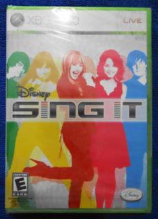 Xbox 360 Disney Sing It Nuevo Y Sellado