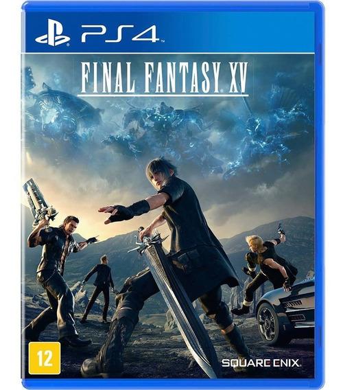 Jogo Final Fantasy Xv 15 Ps4 Mídia Física Game Novo Lacrado