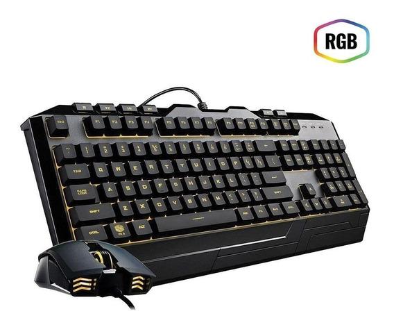 Kit Gamer Coolermaster Devastator 3 Teclado E Mouse Gamer