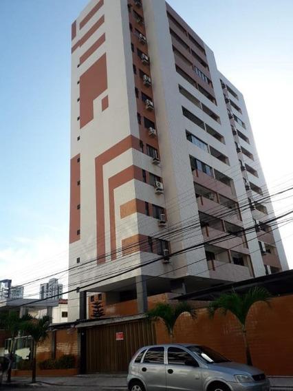 Apartamento Com 3 Dormitórios À Venda, 96 M² Por R$ 460.000 - Fátima - Fortaleza/ce - Ap3967
