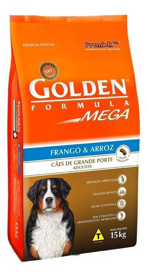 Ração Golden Mega Cães Adultos Raças Grandes 15 Kg