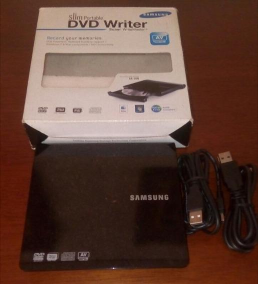 Quemador Samsung Dvd Writer Portable Mod: Se-208
