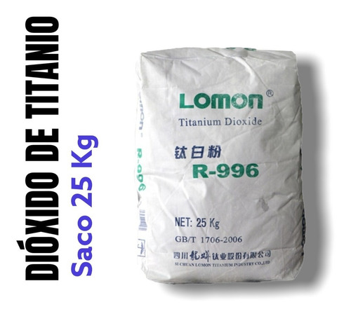 Pigmento Blanco Dioxid Titani Tio2