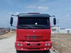 Mercedes Benz 1718, Ano 2010, Cor Vermelha