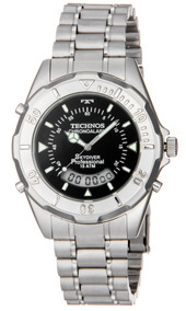 Relógio Masculino Technos Skydiver Aço T20557/1p