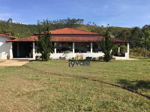 Chácara Com 4 Dormitórios À Venda, 145200 M² Por R$ 960.000,00 - Paraíso De Igaratá - Igaratá/sp - Ch0053
