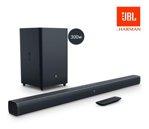 Home Soundbar Jbl Bar 2.1 Canais, 300w De Potência Bluetooth
