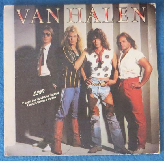 Simple Vinilo Van Halen Jump Imp 1984 David Lee Roth Sin Uso