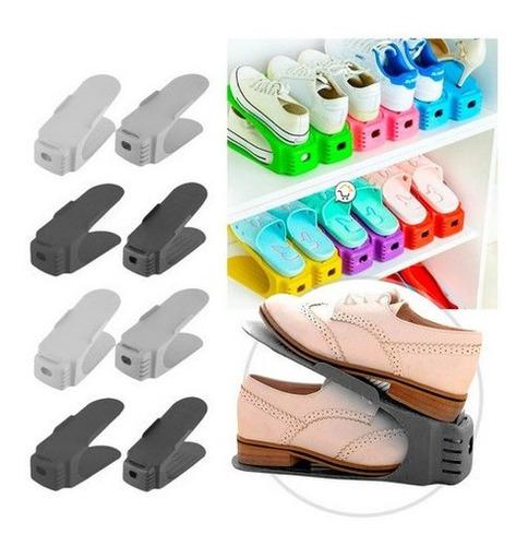 Organizador Zapatos X3 Zapatero Acomodador Plástico Zap3