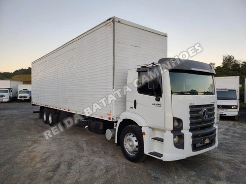 Imagem 1 de 13 de Volkswagen Constellation 24.280 Truck Baú 11 Metros Revisado