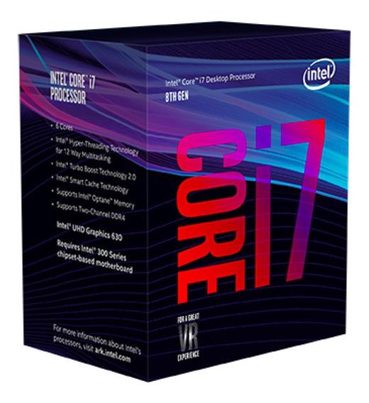 Processador Intel Core I7 -8700 8 Th