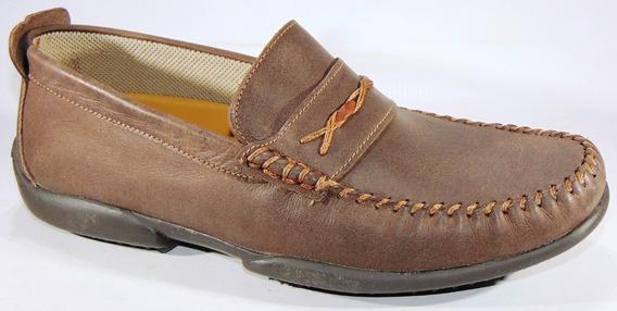 Zapatos Mocasines Hopper Cuero Vacuno Cosidos Art 883