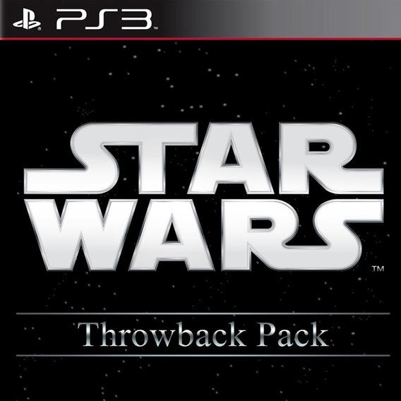 Pacote 5 Jogos Star Wars - Jogos Ps3 Playstation 3