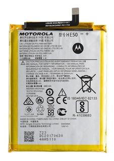 Bateria Motorola Moto E4 Plus Xt1773 Xt1770 He50 100% Origi