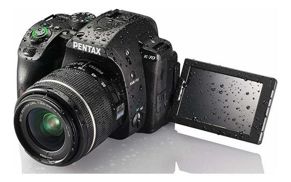 Camara Pentax K-70 24mp Dslr 18-55mm Wr Lente Y Extended -®