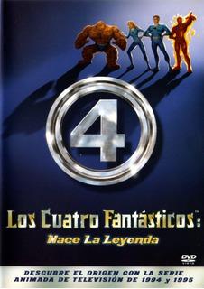 Los Cuatro Fantásticos Nace Una Leyenda Marvel Dvd Original