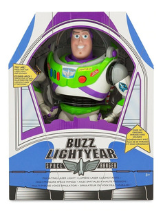 Toy Story Figura Buzz Lightyear Parlante/ Luces Disney Store