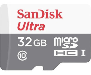 Memoria Micro Sd Sandisk De 32gb Clase 10 - Dixit Pc